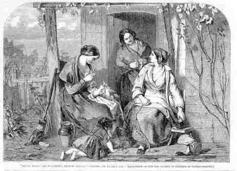 Women Straw Plaiters, The Illustrated London News, May 14th 1853, William Lee