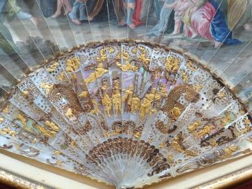 18th century, Queen Hortense Fan at Berrington Hall