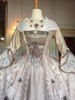 'The Wedding dress', The Duchess exhibition at Berrington Hall, April 1st - June 31st 2014